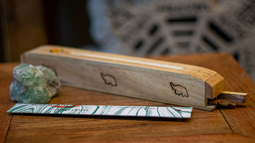 Elephant incense box
