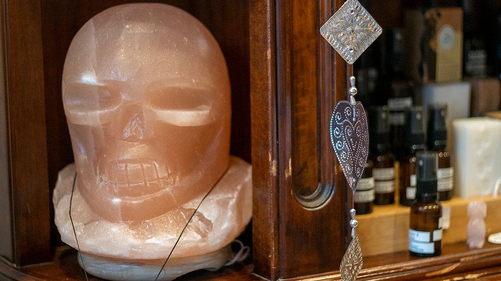 Skull Salt lamp