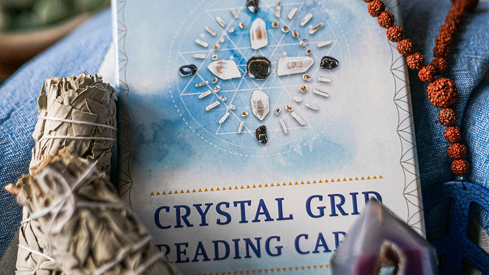 Crystal Grid Reading Cards