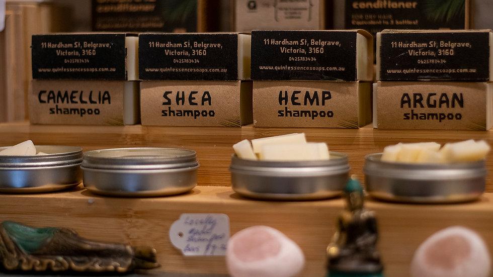 Quintessence Soaps Camellia Shampoo bar10.00