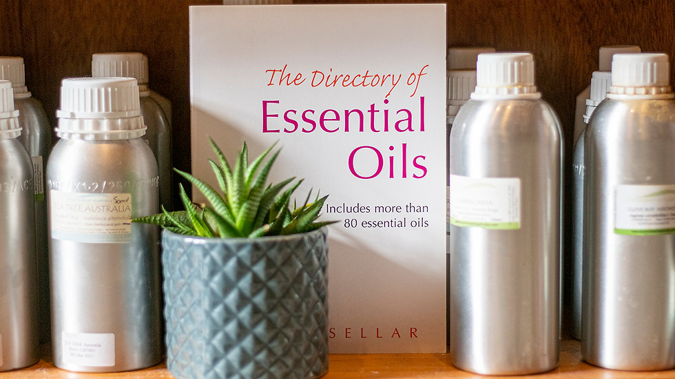 The Dictionary of Essential Oils