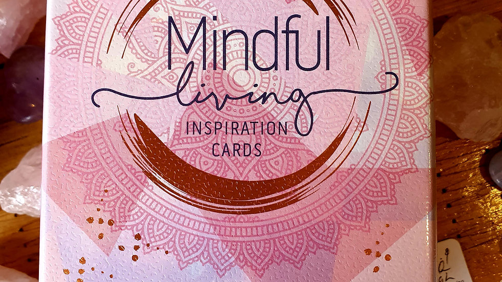 Mindful living - Inspirational Cards