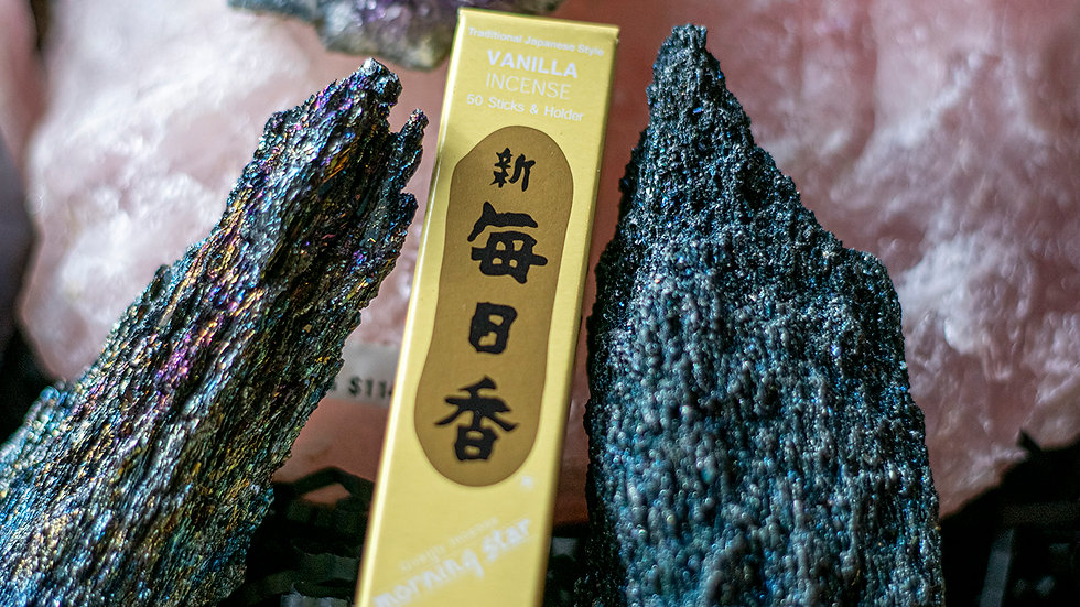 Vanilla Morning Star incense