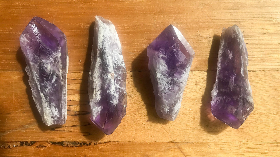 Small Amethyst Points