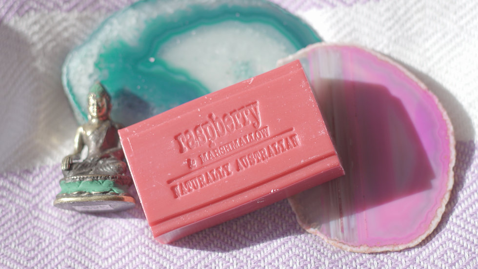 Naturally Australian Raspberry & Marshmallow  Soap
