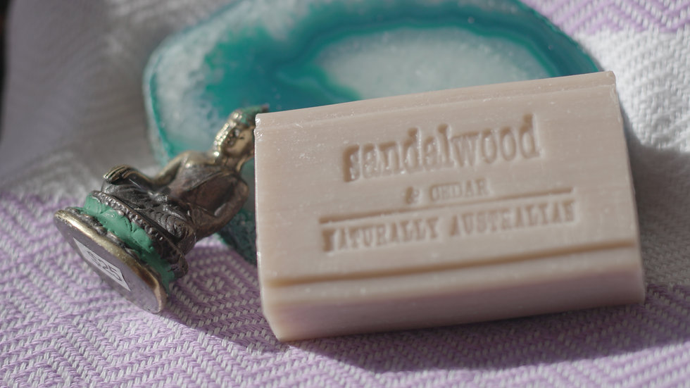 Naturally Australian Sandalwood & Cedar Soap