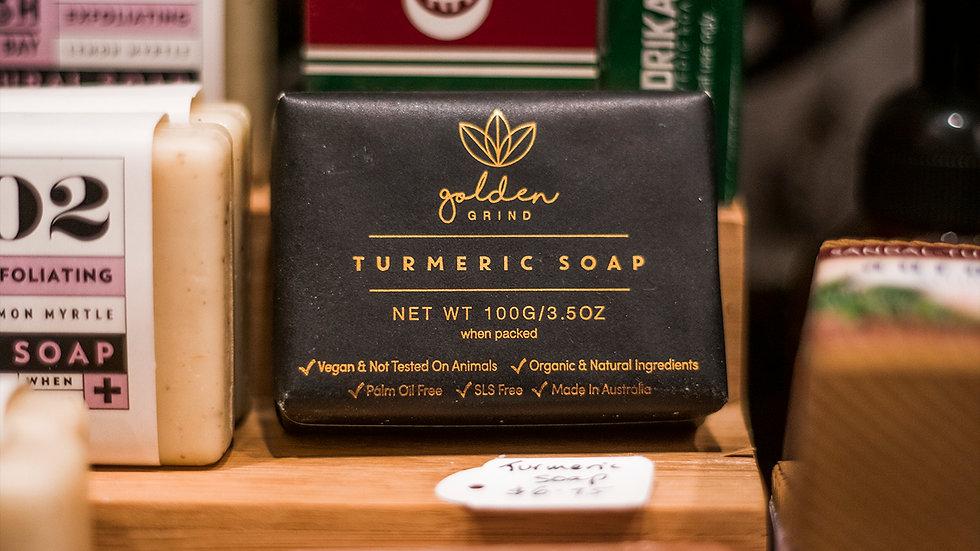 Golden Grind Tumeric Soap Bar