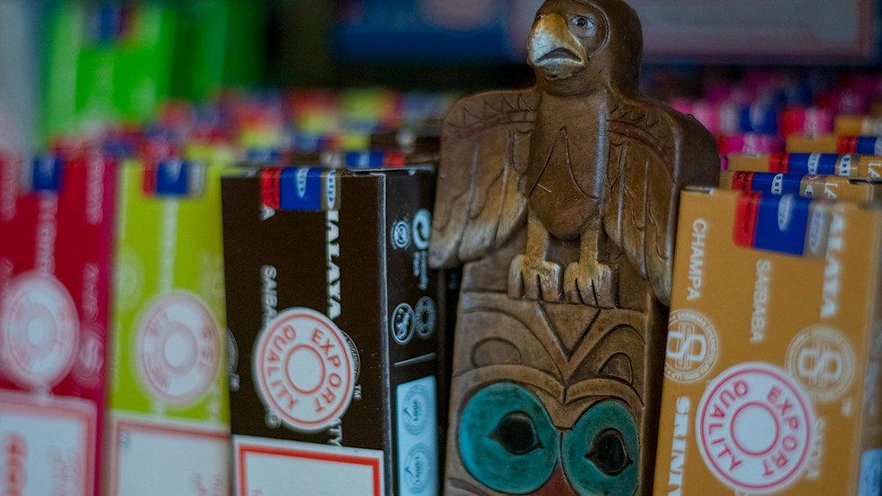 Eagle incense holder