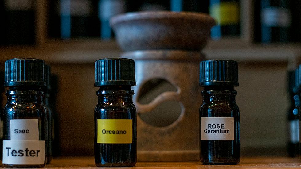 Rose Geranium Pure Essential Oil