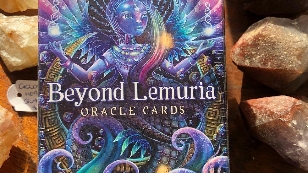 Beyond Lemuria - oracle cards