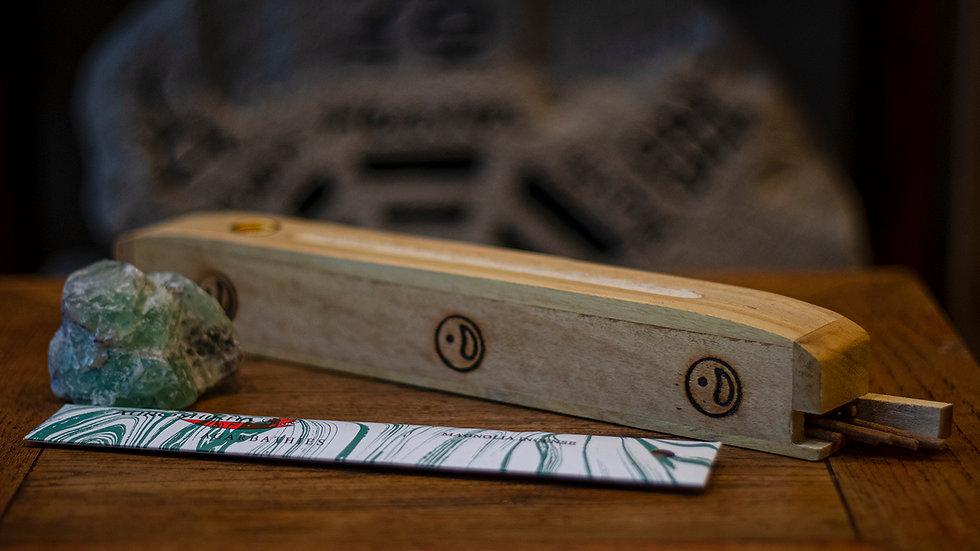 Ying yang incense box