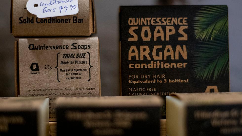 Quintessence Soaps Argan Shampoo bar