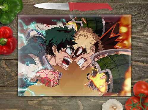My Hero Academia Bakugo vs Deku