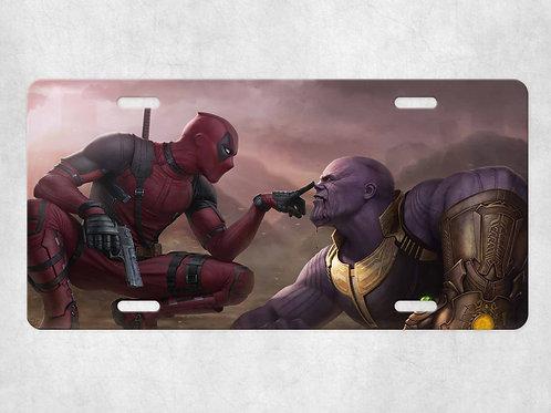 Deadpool and Thanos