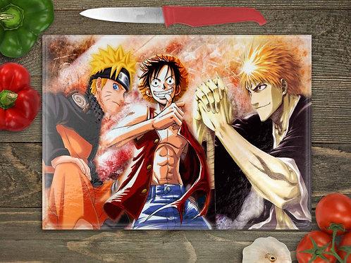 Naruto, Luffy, Ichigo
