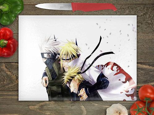 Naruto, Minato, Kakashi