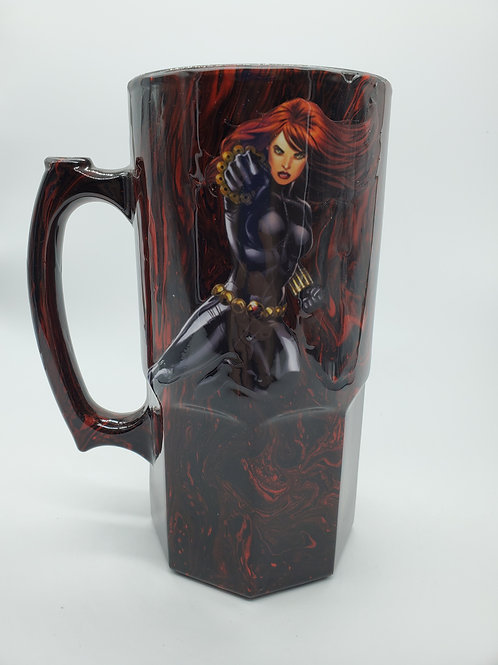 Black Widow Nerd Stein