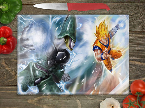 Dragon Ball Z Goku vs Cell