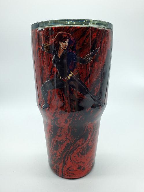 Black Widow Tumbler
