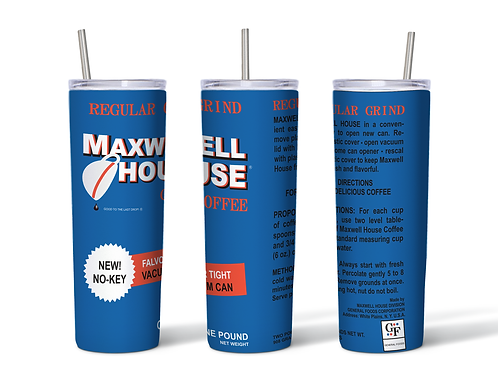 Maxwell House Can Inspired