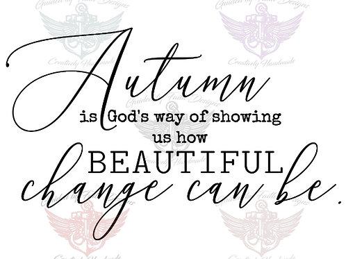 Autumn us Gods Way