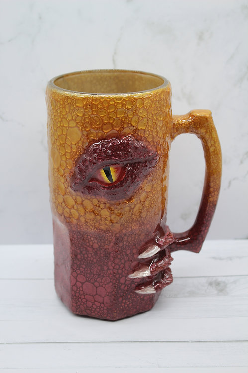 Deep Red and Gold Dragon