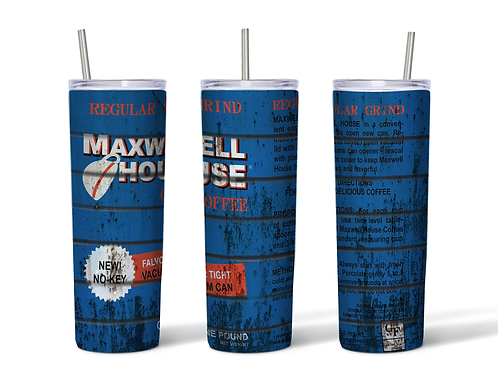 Maxwell House Grungy Can Inspired