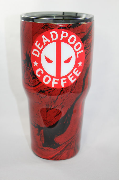 Deadpool Coffee Tumbler