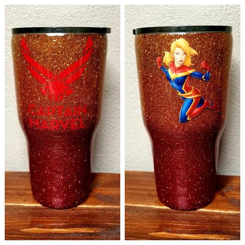 Captain Marvel Tumbler