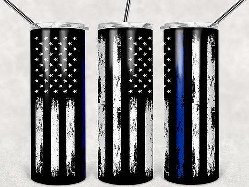 American Flag Thin Blue Line