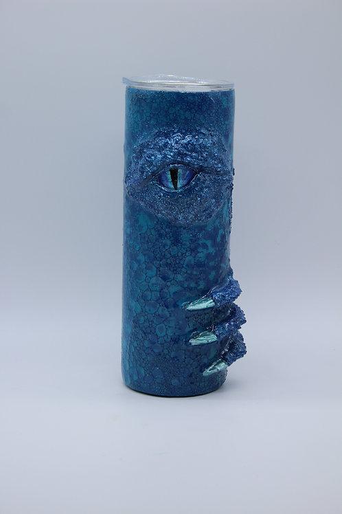Blues Glitter Dragon