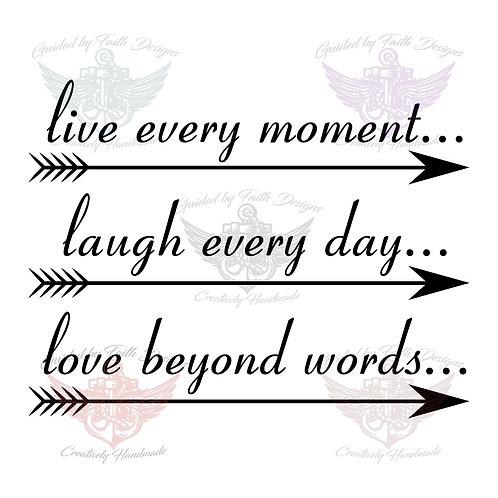 Live Laugh Love Arrows