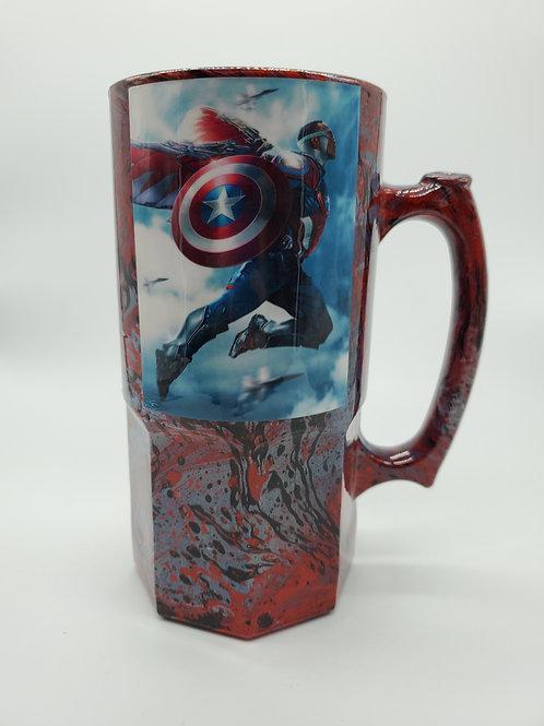 Falcon Captain America Nerd Stein
