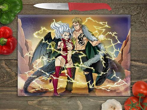 Fairy Tail Laxus and Mirajane