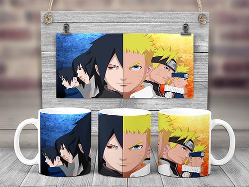 Naruto and Sauske Coffee Mug