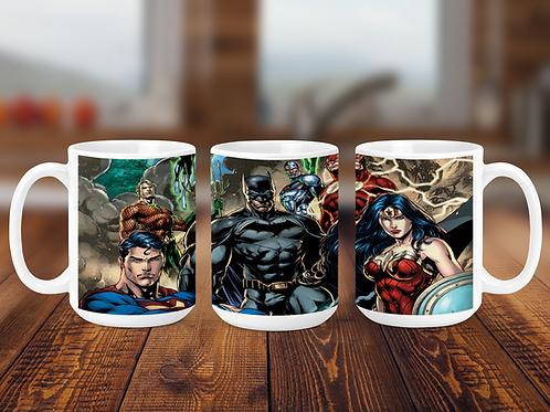 Justice League Coffee Mug