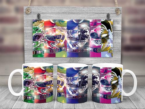 Power Rangers Coffee Mug