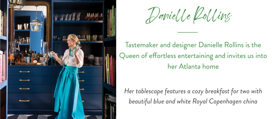 Set The Table With...Entertaining Guru Danielle Rollins
