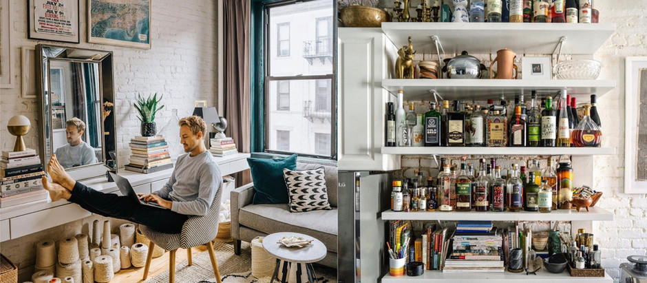 "Lifestyle Instagrammer Patrick Janelle aka ""A Guy Named Patrick"" Opens Up His Très Chic SoHo Loft"