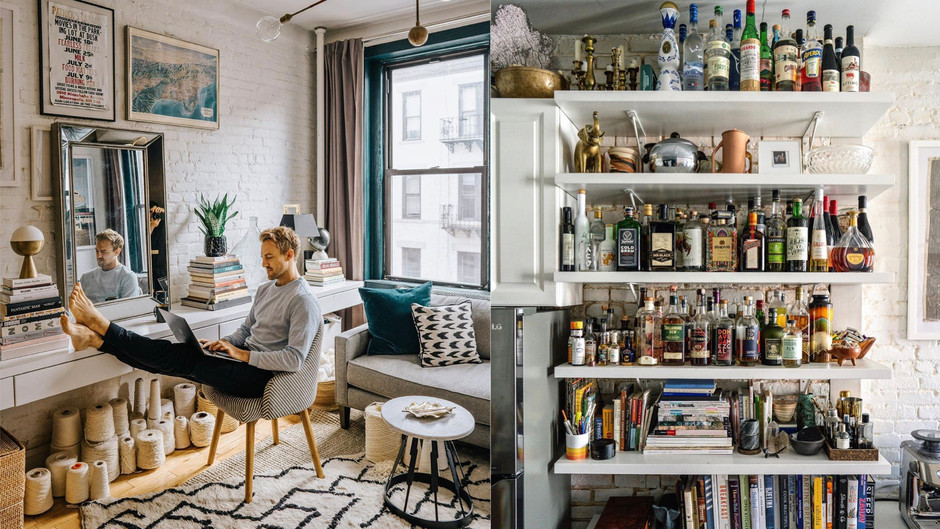 """Lifestyle Instagrammer Patrick Janelle aka """"A Guy Named Patrick"""" Opens Up His Très Chic SoHo Loft"""