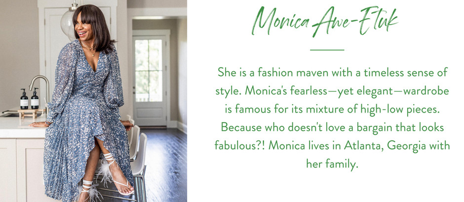 What To Wear Where...Featuring Fashion Blogger Monica Awe-Etuk