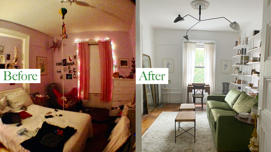 """Insane $1,300/month """"Rent-Stabilized"""" New York City Apartment   BEFORE & AFTER"""