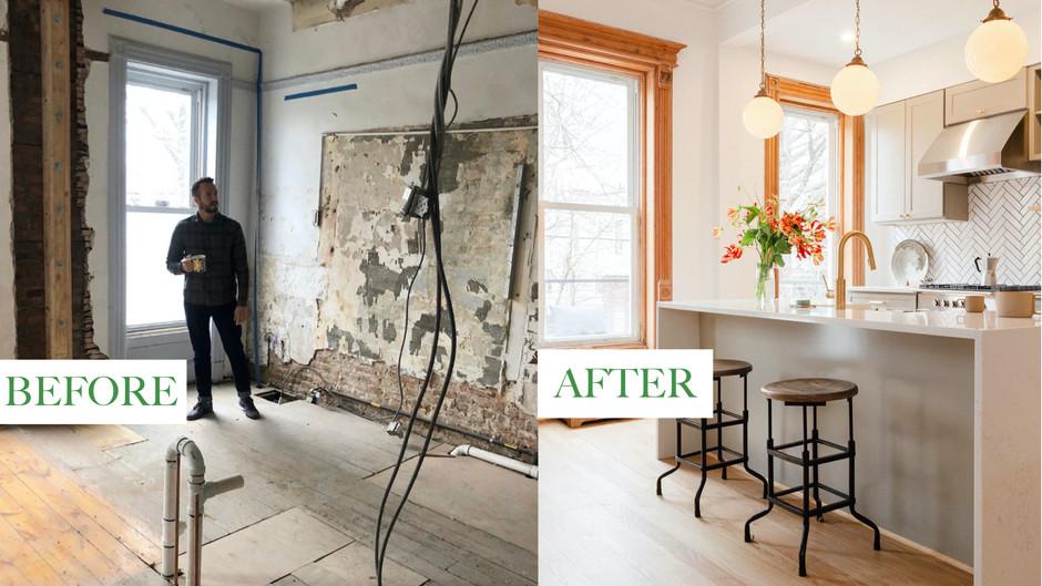 """Brownstone Boys"" Design Their Beautiful Brooklyn Home"