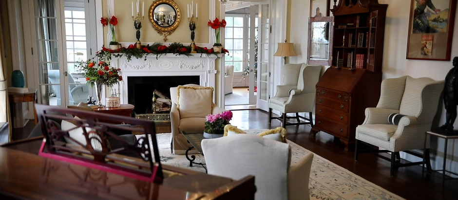 Connecticut Governor and First Lady Lamont Host a Virtual Holiday Open House at their Residence