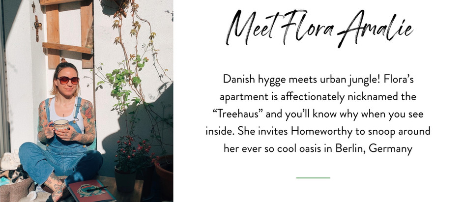 Snooping Around...in Flora Amalie's Urban Jungle Apartment in Berlin, Germany