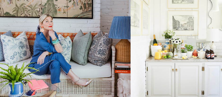 Gen Sohr of Pencil & Paper Co. Opens Up Her Happy Nashville Sunroom