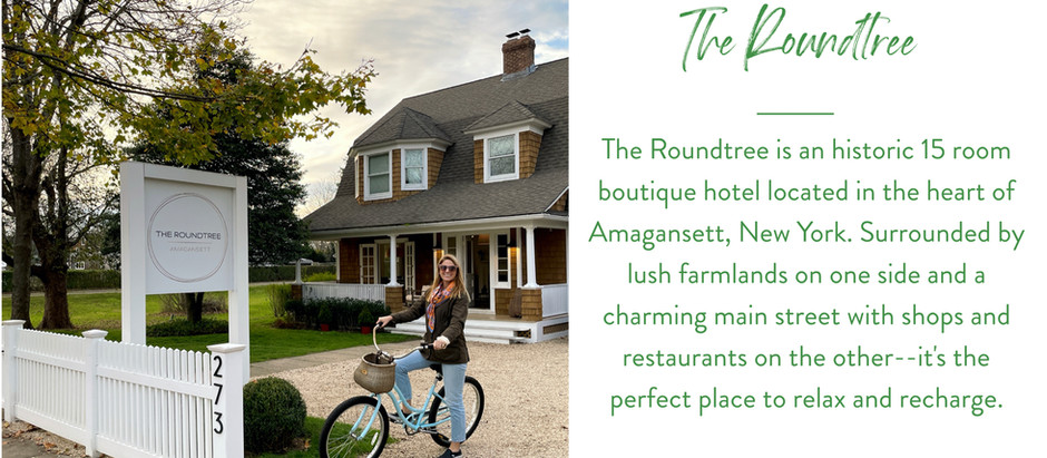 The Roundtree is Amagansett's Coziest New Boutique Hotel...With Lots of History