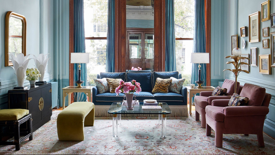 A Colorful Brooklyn Townhouse with Jaw-Dropping Interiors