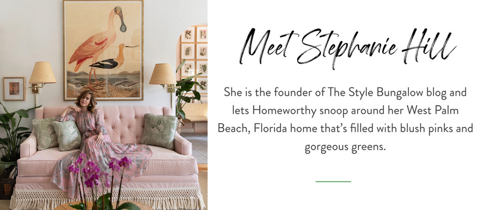 Snooping Around...in Stephanie Hill's West Palm Beach, Florida Home
