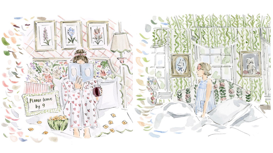 Artist Riley Sheehey Paints Whimsical Watercolors and Invites Us Into Her Home Studio